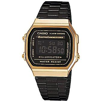 Casio digital watch Unisex Quartz stainless steel A168WEGB-1BEF