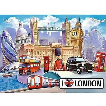 Ravensburger XXL 100 Piece Puzzle I Love London