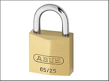 ABUS 65/25 25mm Brass Padlock Keyed 251