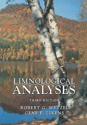 Limnological Analyses by Wetzel & Robert G.