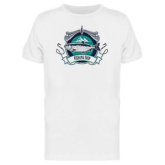 Fischerei-Industrie T-Shirt Herren-Bild von Shutterstock