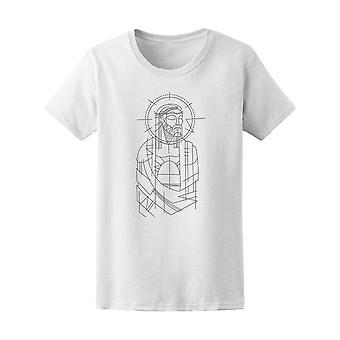 Jezus Christus Prisioner tekening Tee mannen-beeld door Shutterstock