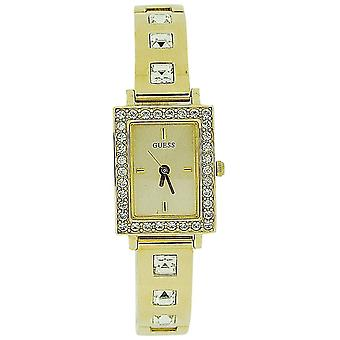 Guess Ladies Analogue Gold Tone Stainless Steel Bracelet Strap Watch W10529L1
