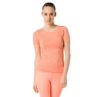 Jerf- Womens-rodia-coral Melange- Performance Tee Shirt