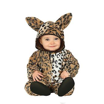 Toddlers Childrens Leopard Fancy Dress Costume