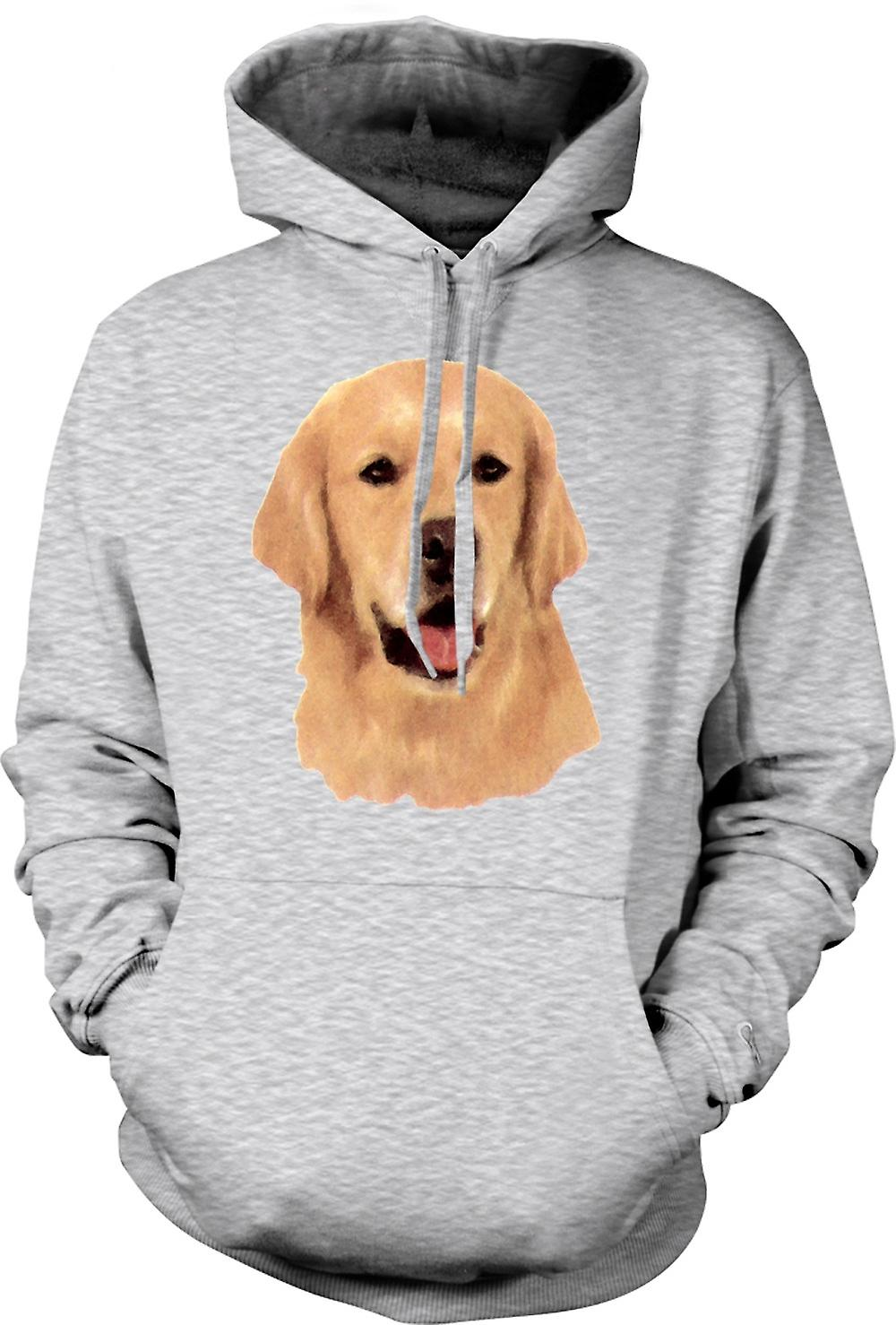 Mens Hoodie - Golden Retreiver - Pet Dog