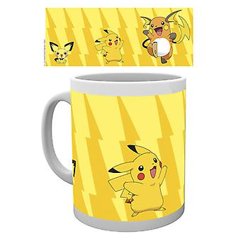 Pokemon Pikachu si evolvono