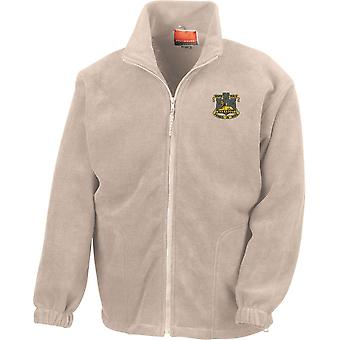 Devonshire And Dorset Light Infantry - Licensed British Army Embroidered Heavyweight Fleece Jacket
