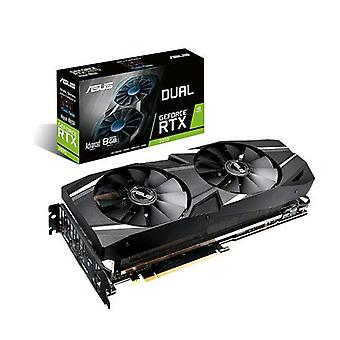 ASUS Dual-rtx2070-a8g grafische kaart NVIDIA GeForce RTX 2070 8GB gddr6 PCI Express 3,0