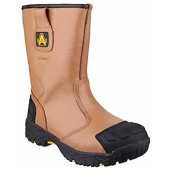 Amblers Safety Mens FS143 Waterproof pull on Safety Rigger Boot