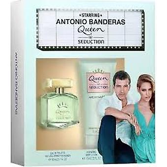 Antonio Banderas Queen of Seduction Gift Set 50ml EDT + 50ml Body Lotion