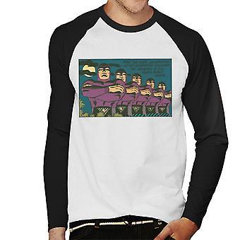 Fantomen genom tiderna män ' s baseball Långärmad T-shirt