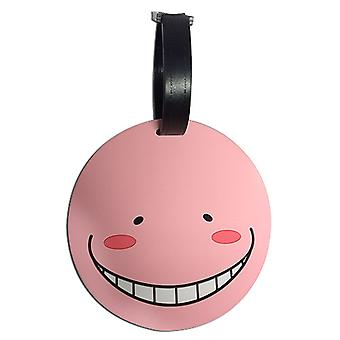 Luggage Tags - Assassination Classroom - Koro Sensei Relaxed (PINK) ge85527