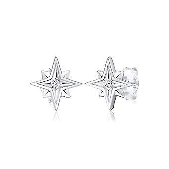 Elli Silver Women's Pin Earrings 309430417