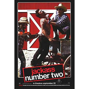 Jackass der Film Nummer 2 (doppelseitig) Original Kino Poster