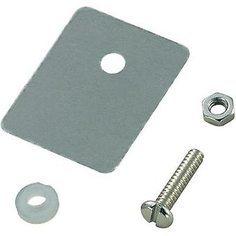 Semiconductor mounting set (L x W) 25 mm x 22 mm Suitable for TO 218 SCI A18-9D 1 Set