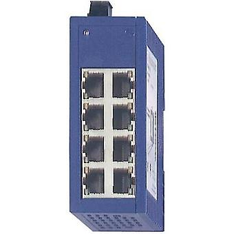 Unmanaged Hirschmann SPIDER 8TX No. of Ethernet ports 8 LAN data transfer rate 100 Mbit/s Operating voltage 12 Vdc, 24