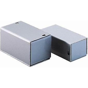 TEKO 1 A Small Aluminium Case Enclosure, Silver Colour 37 x 72 x 28 mm
