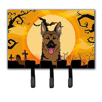 Halloween German Shepherd Leash or Key Holder BB1769TH68