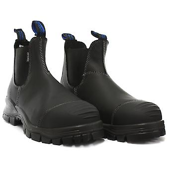 Blundstone 910 Steel Toe Black Unisex Safety Boots