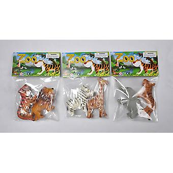 Dimasa Bag 2 Animal Zoo (Toys , Dolls And Accesories , Miniature Toys , Animals)