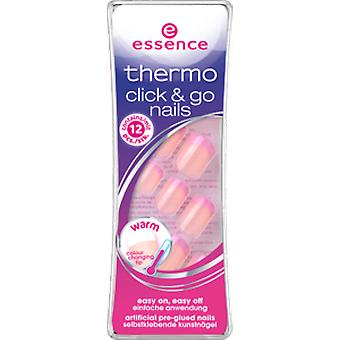 Essence Thermo Unghie Artificiali Click & Go 02