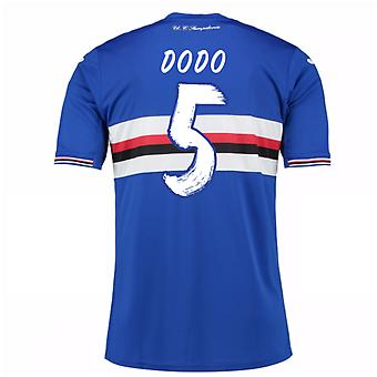 2016-17 Sampdoria Home Shirt (Dodo 5) - Kids
