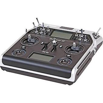 Graupner MC-20 Hott RC console 2,4 GHz No. of channels: 12 Incl. receiver