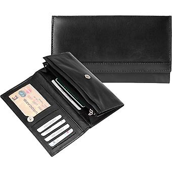Dr Amsterdam 67-Series Black ladies wallet