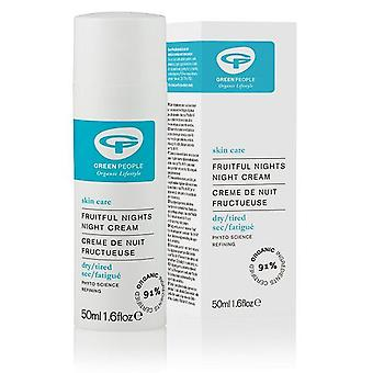 Green People Fruit Nights Hydrating Cream 50 Ml