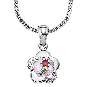 Princess Lillifee Children Kids necklace silver flowers pLF4 / 1 396 905