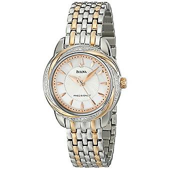 Bulova Women's 98R153 Precisionist Brightwater Two-Tone Stainless Steel Watch