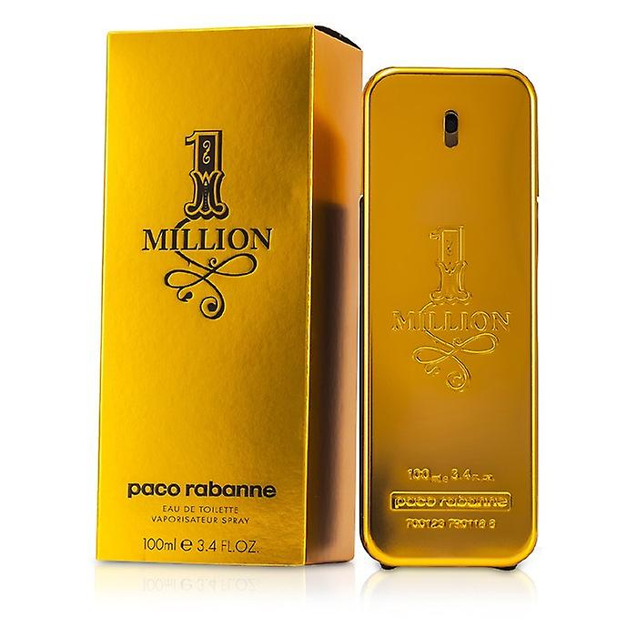 Paco Rabanne 1 million Eau De Toilette Spray 100 ml / 3.4 oz