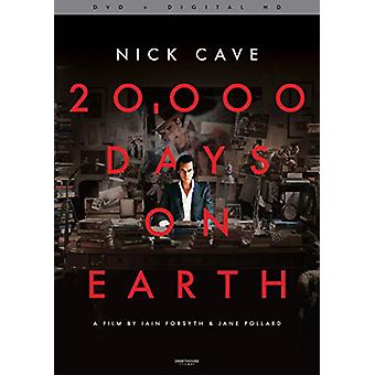 20 000 Days on Earth [DVD] USA import