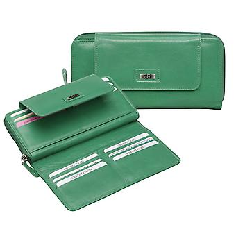 Dr Amsterdam ladies wallet Pompia Emerald Green