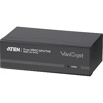 ATHENS VGA splitter 1 input to two outputs, HD15ho, beige