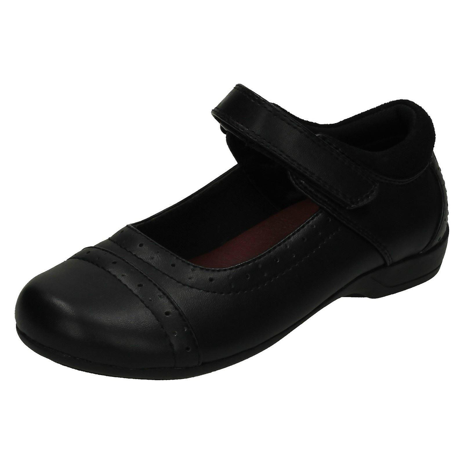63fc4ae90316 ... Mädchen Cool für die Schule Blume gestanzt Vamp Schule Schuhe H2423