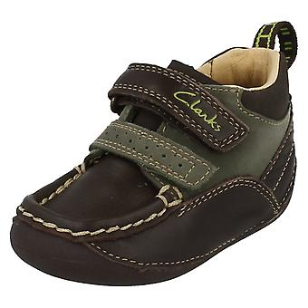 Boys Clarks Casual Ankle Boots Trampler