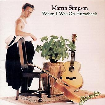 Martin Simpson - da jeg var på hesteryg [CD] USA import