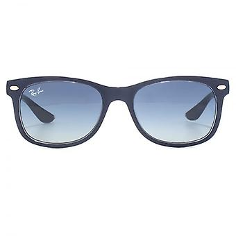 Ray-Ban Junior New Wayfarer Sunglasses In Black Green