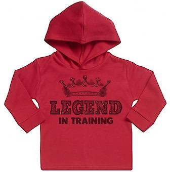Spoilt Rotten Legend In Training Cotton Hoodie