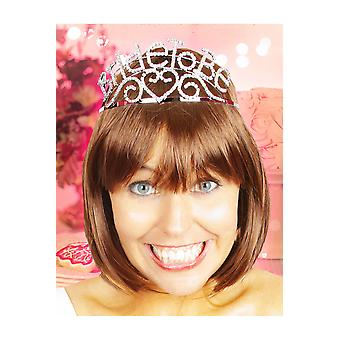 Hair accessories  Bride to Be Crown with Rhinestones