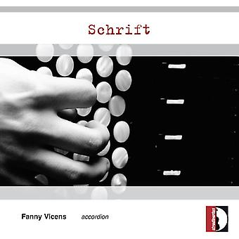 Bedrossian / Gervasoni / Harada / Vicens - Schrift [CD] USA import