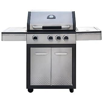 Ldk Gas grill 3 burner + side cabinet Inox Shopping 82,153