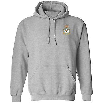 Linton-på-Ouse RAF Station broderad Logo - officiell Royal Air Force Hoodie