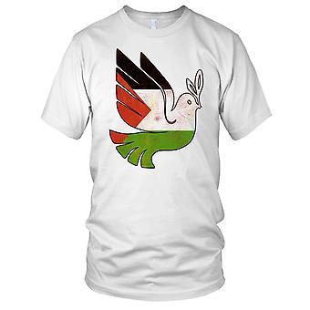 Freies Palästina Friedenstaube Gaza-Herren-T-Shirt