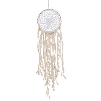 Sass and Belle White Boho Macramé Dreamcatcher
