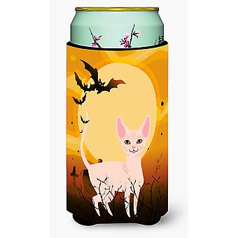 Halloween Sphynx Cat Tall Boy Beverage Insulator Hugger