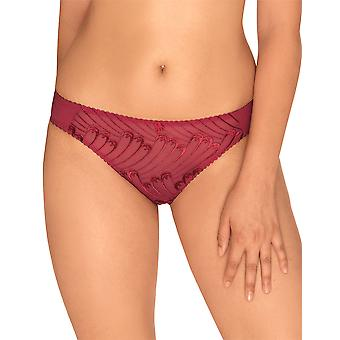 Sans Complexe 66965 Women's Narcisse Red Knickers Panty Full Brief