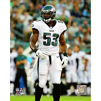 Nigel Bradham 2017 Action Photo Print